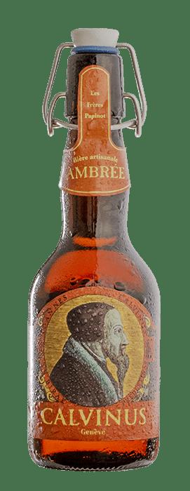 Beer-Ambrée-Calvinus-artisanal-geneva-Switzerland-Goodbeer