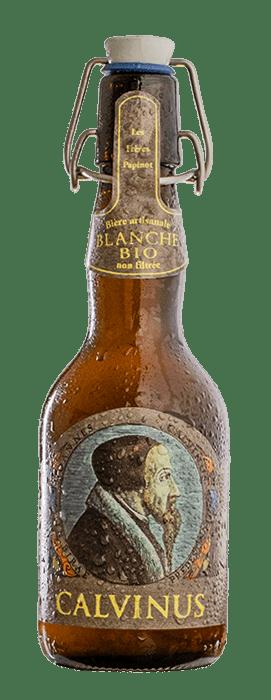 Non-filtered-white-beer-Calvinus-artisanale-genève-Suisse-BonneBière