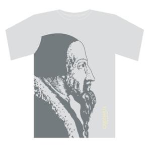T-shirt homme, gris/anthracite Calvinus