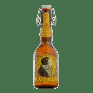 Bière-Blonde-Calvinus-artisanale-genève-Suisse